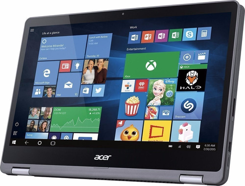 notebook acer 2 em 1 r5-571t i5 12g 128ssd+1t 15.6 fhd touch
