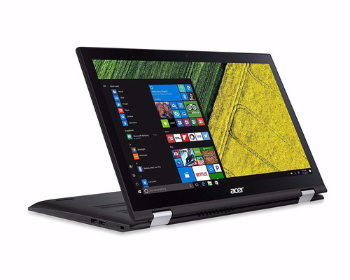 notebook acer 2 em 1 spin 3 i7 12gb 128ssd+1t 15.6 touch fhd
