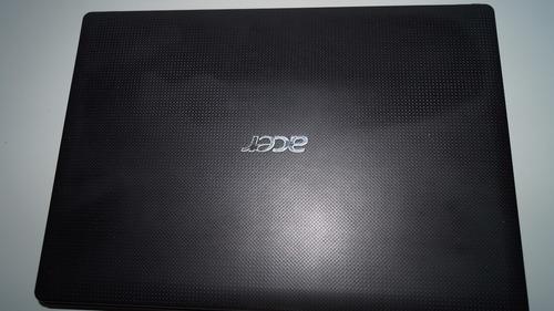 notebook acer 2gb hd 500gb w10 original pronto para uso! top