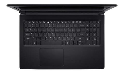 notebook acer aspire 3, n3060, 4gb, 500 gb, tela 15,6