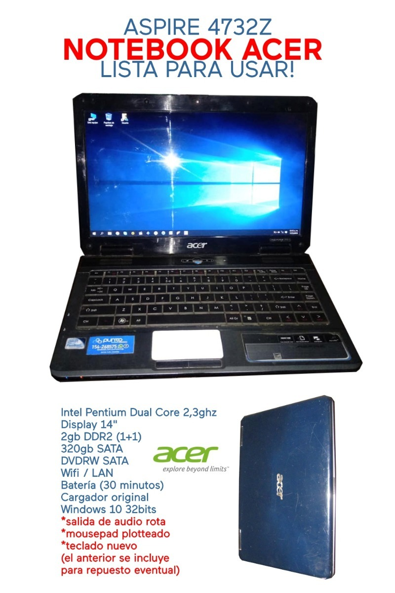ACER ASPIRE 4732Z LAN DRIVERS FOR MAC