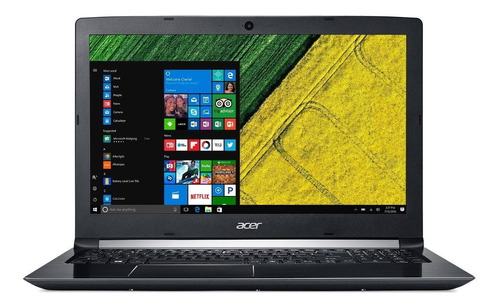 notebook acer aspire 5 a515-51-37lg intel core i3 8ºgeração ram 4gb hd 1tb tela 15.6'' hd windows 10 pro