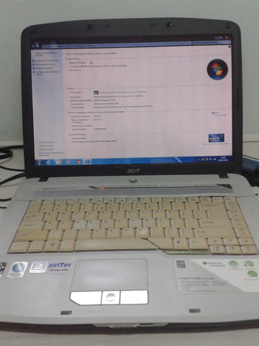 notebook acer aspire 5520 5908 com defeito na bga