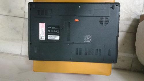 notebook acer aspire 5750 6651, core i3, 500gb, 4gb ram,15.6