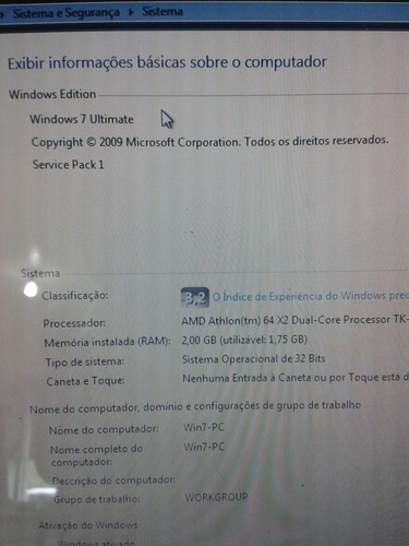 notebook acer aspire