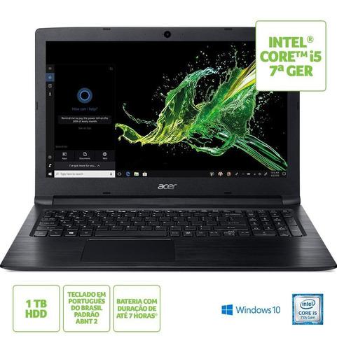 notebook acer aspire a315-53-53ak ci5 4gb 1tb 15.6 wind 10