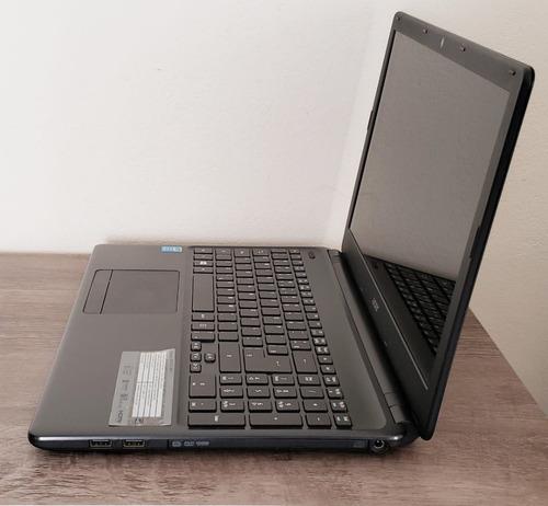 notebook acer aspire e1-572 intel core i3 4ª ger. 4gb 500gb