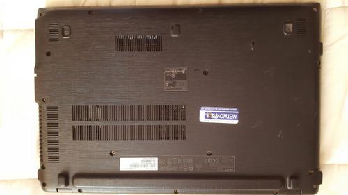 notebook acer aspire e15 e5-573-37uz en desarme