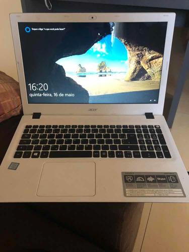 notebook acer aspire e5 intel core i5 6a ger 8gb 1 tb