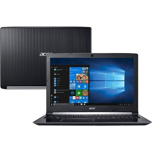 notebook acer aspire intel core i5 7ger 4gb 1tb vitrine