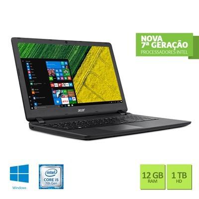 notebook acer es1-572-5959 intel core i5 12gb ram 1tb hd 15.