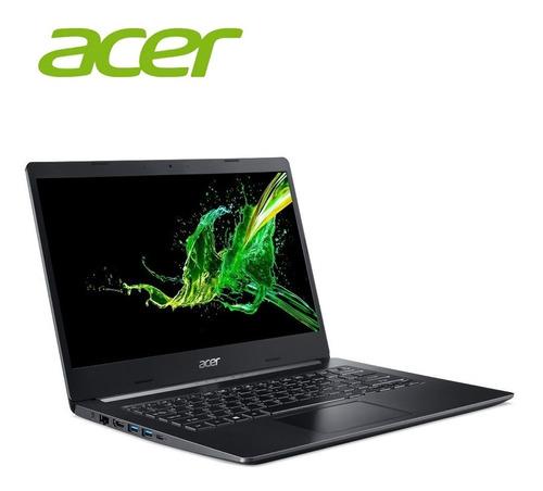 notebook acer i7 8va quad 8gb ssd512 14 fullhd h/9,5hs alum