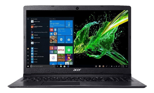 notebook acer intel core i5 +4gb ram +1tb +16gb  optane