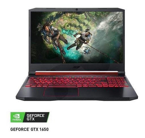 notebook acer intel core i5 8gb 1tb gtx 1650 15.6