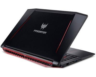 notebook acer predator helios 300 15.6in fhd i7-7700hq 16gb