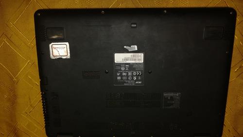 notebook acer r3-431 en desarme, pantalla quebrada