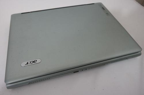 notebook acer travelmate  3204xmi - defeito