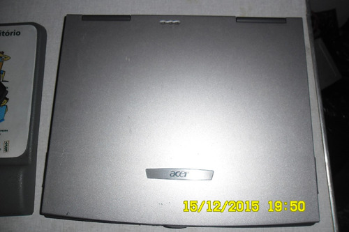 notebook acer travelmate 612txci 14.1 com defeito relíquia