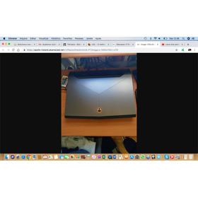 Notebook Alienware 17 R4 I7-7820k 1080 16gb
