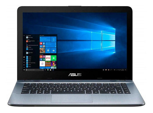notebook asus amd a6 dual core 4gb ram 500gb 14' win10