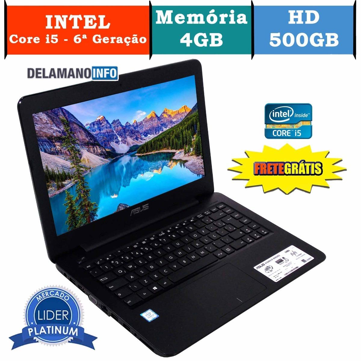 f26d242d0 notebook asus core i5 4gb ram 500gb hd promoção (10110). Carregando zoom.