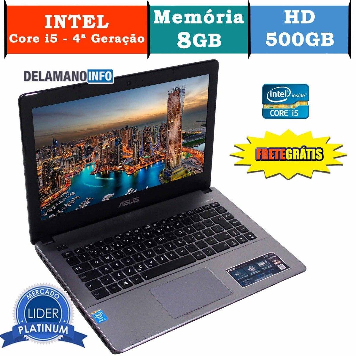 ebef2822d notebook asus core i5 8gb ram 500gb hd promoção (10031). Carregando zoom.