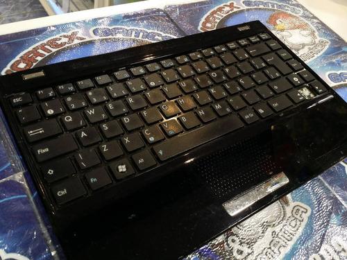 notebook asus eeepc painel com teclado touchpad no estado