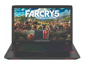 Notebook Asus Fx Gamer I7 7º Quad 8g 1t+128ssd Gtx 1050 4gb