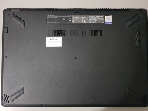 notebook asus gamer f570z usado