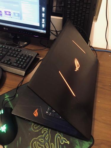 notebook asus gamer strix - i7 - gtx 1050 - 16 ram - ssd 250