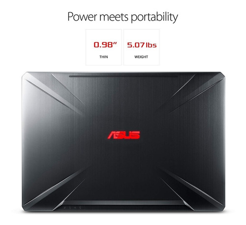 notebook asus gamer tuf intel® core i7-8750h 32gb 2 tera nvidia gtx 1060 6gb tela 15,6 full hd ips 120hz