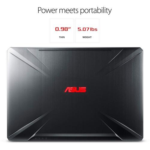 notebook asus gamer tuf intel® core i7-8750h 8gb 1 tera nvidia gtx 1060 6gb tela 15,6 full hd ips 120hz
