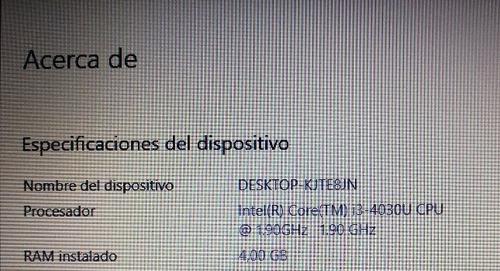 notebook asus intel core i-3 4ram 128gb sdd + 500gb hdd