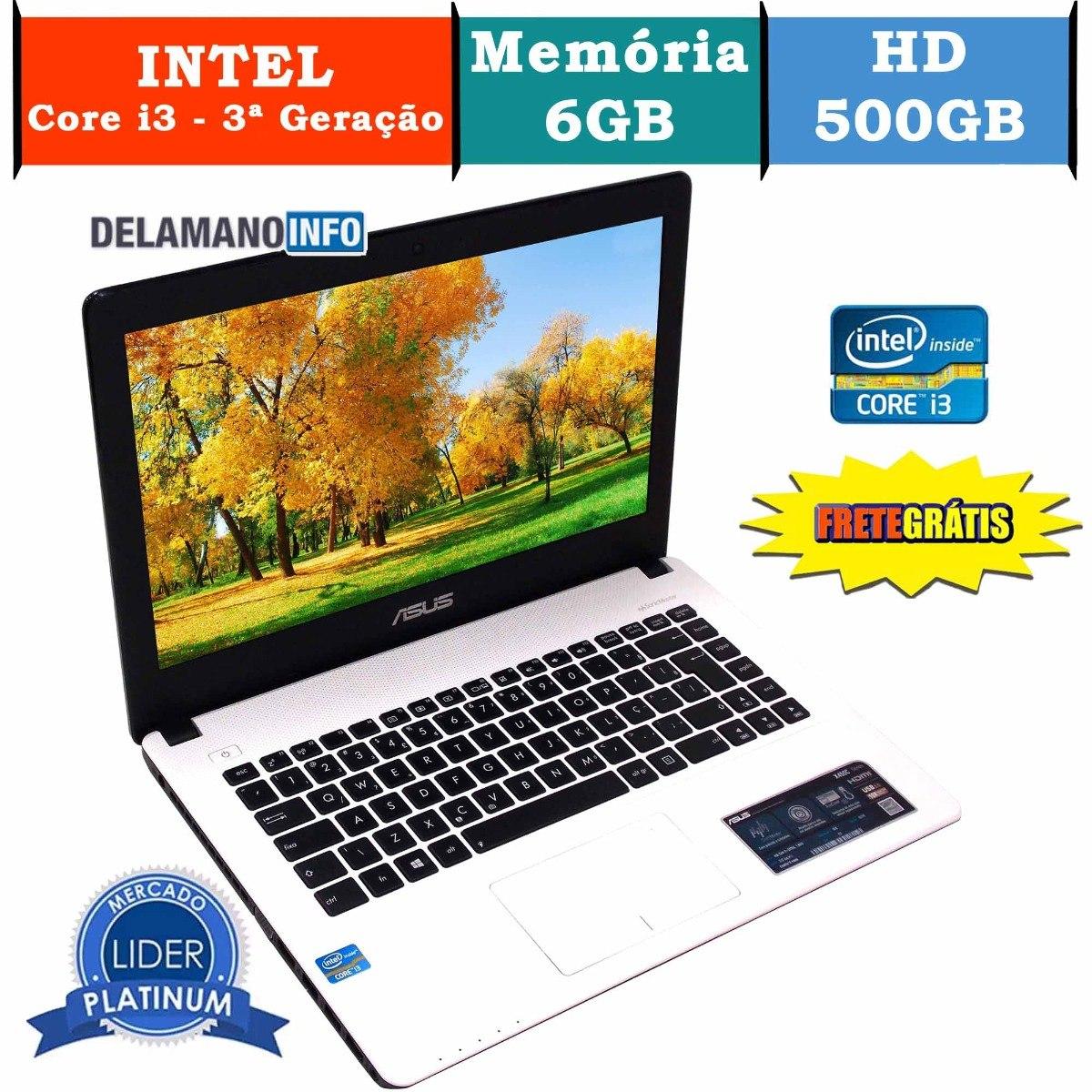 67dc34638 notebook asus intel core i3 3217u 6gb ram promoção (10127). Carregando zoom.