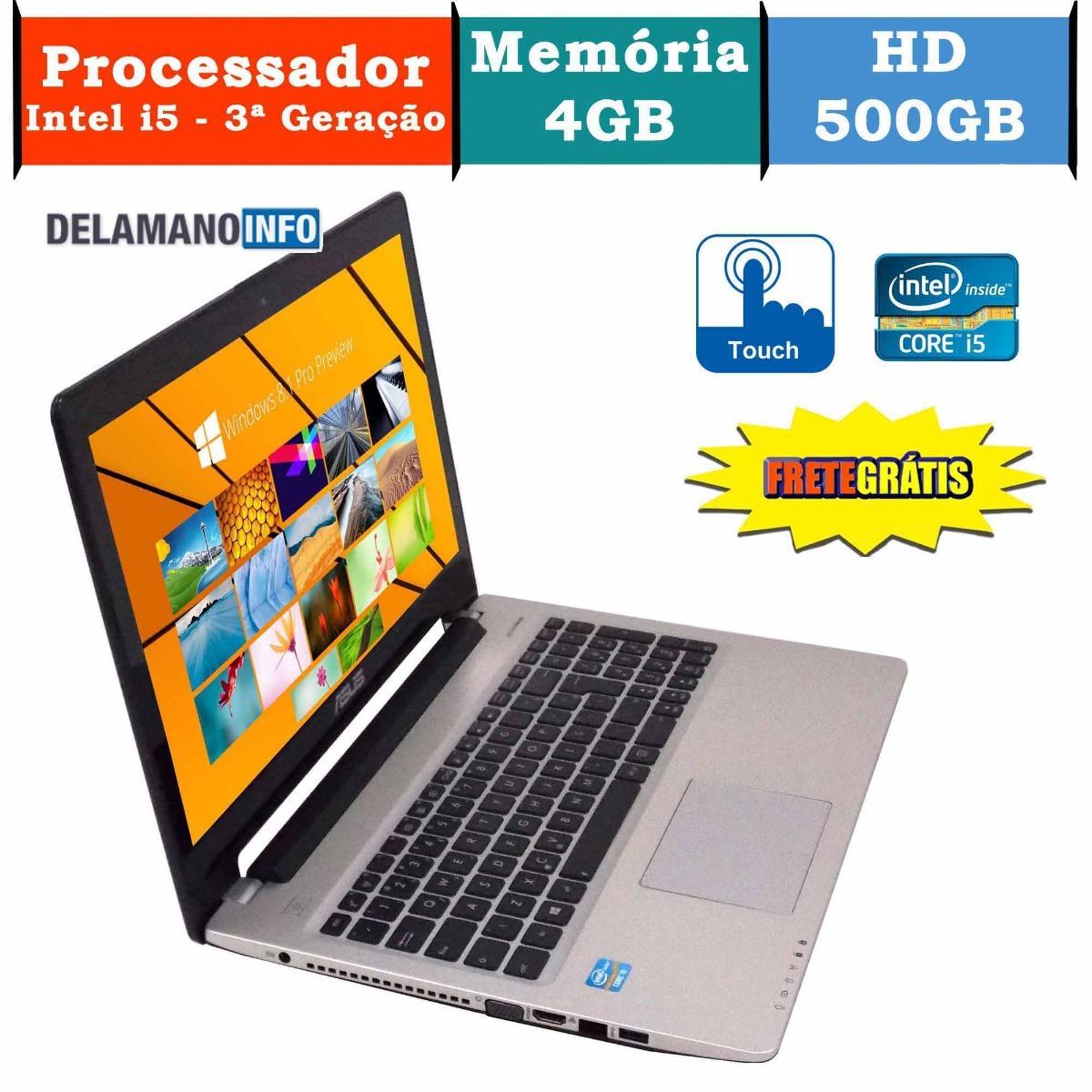 d75a8001a notebook asus intel core i5 3317u 4gb 500gb promoção (9982). Carregando  zoom.