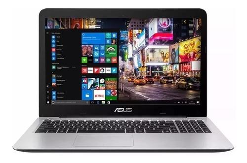 notebook asus intel dual core x540 hd 15.6 4gb 500gb