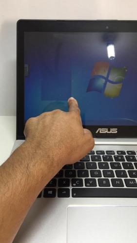 notebook asus s400ca celeron 4gb ram 320gb de hd touchscreen