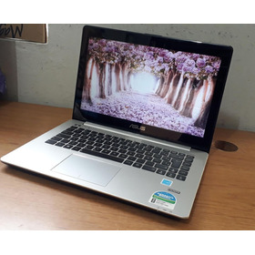 Notebook Asus S451l Memoria 8gb Ddr3 Ssd 240gb Tela Touch