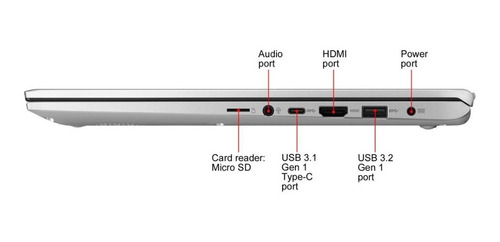notebook asus vivobook i7 10ma 8gb ssd+hdd aluminio 15  2kg