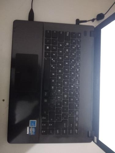 notebook asus x451ca - i3 3217u 4gb de ram