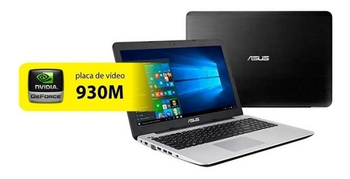 notebook asus x555l i5 8gb 1tera nvidea geforce 930m gamer