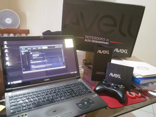 notebook avell - i7 - 16gb - hd 870gb - pl. vid. gtx660m 2gb