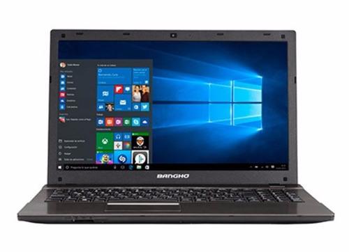 notebook banghó dual core 4gb 500gb 15.6¨ windows 10 oferta