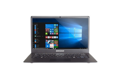 notebook bangho intel celeron 3350 3gb ssd 240gb bt cuotas