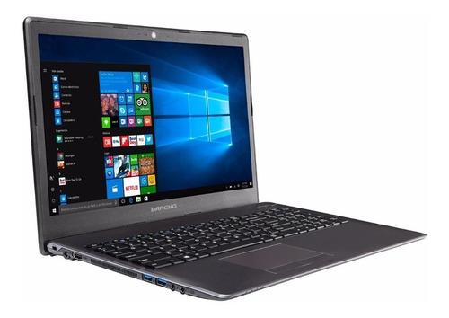 notebook banghó max intel i3 8130u 4gb ssd 240gb 15.6¨ win10