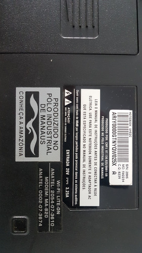 notebook cce info