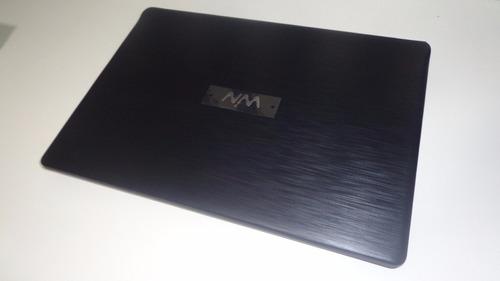 notebook cce u45b 4gb,320gb processador intel celeron