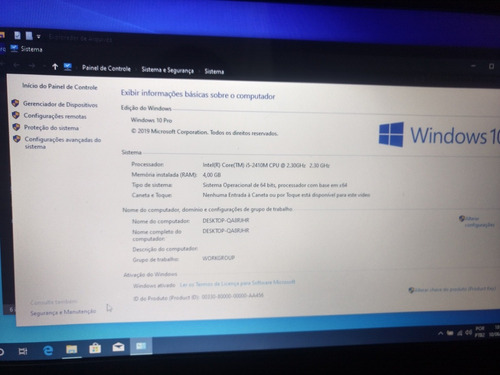 notebook cce win 535p