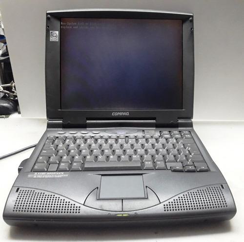 notebook compaq armada 1560dm completo raridade..