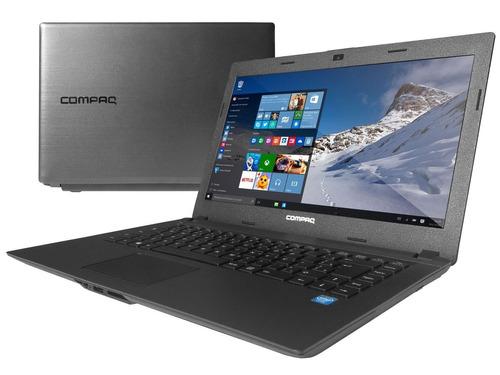 notebook compaq presario cq23 dual core 4gb ram hd 500gb nov